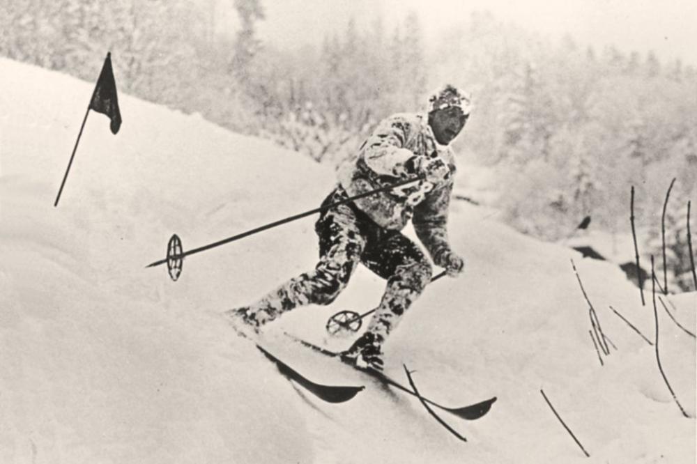 L'homme et la pente : Le Ski